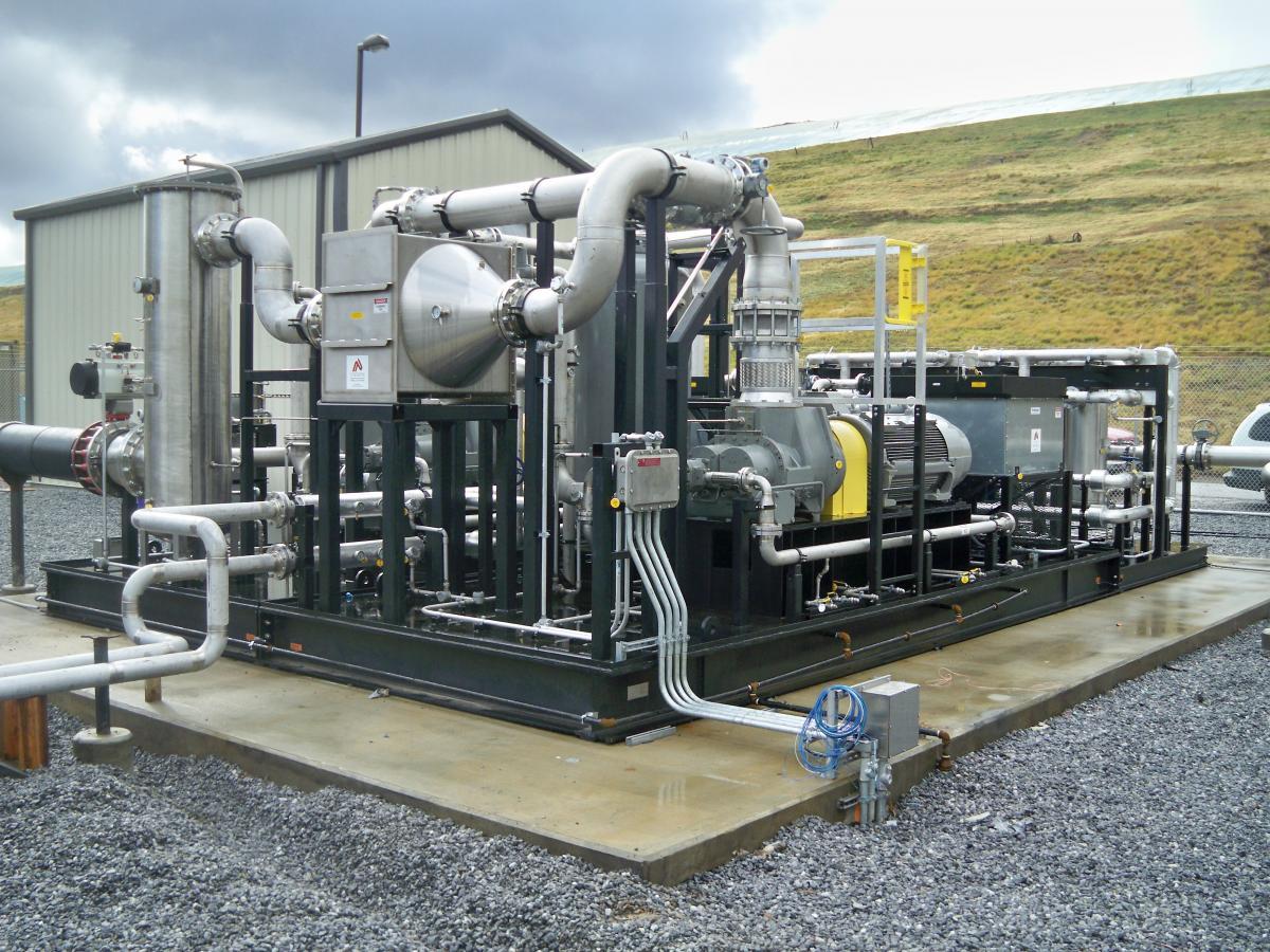Rotary Screw Blower : The evolution of biomass compressors blower vacuum