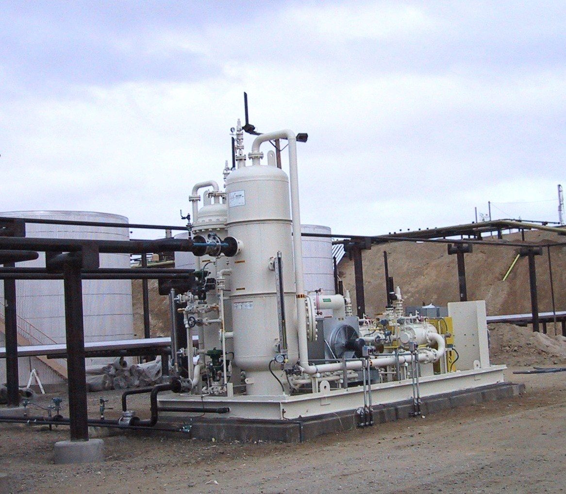 Vapor Recovery Unit for Tank Farm