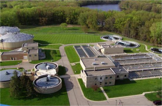 Wisconsin water treatment plant