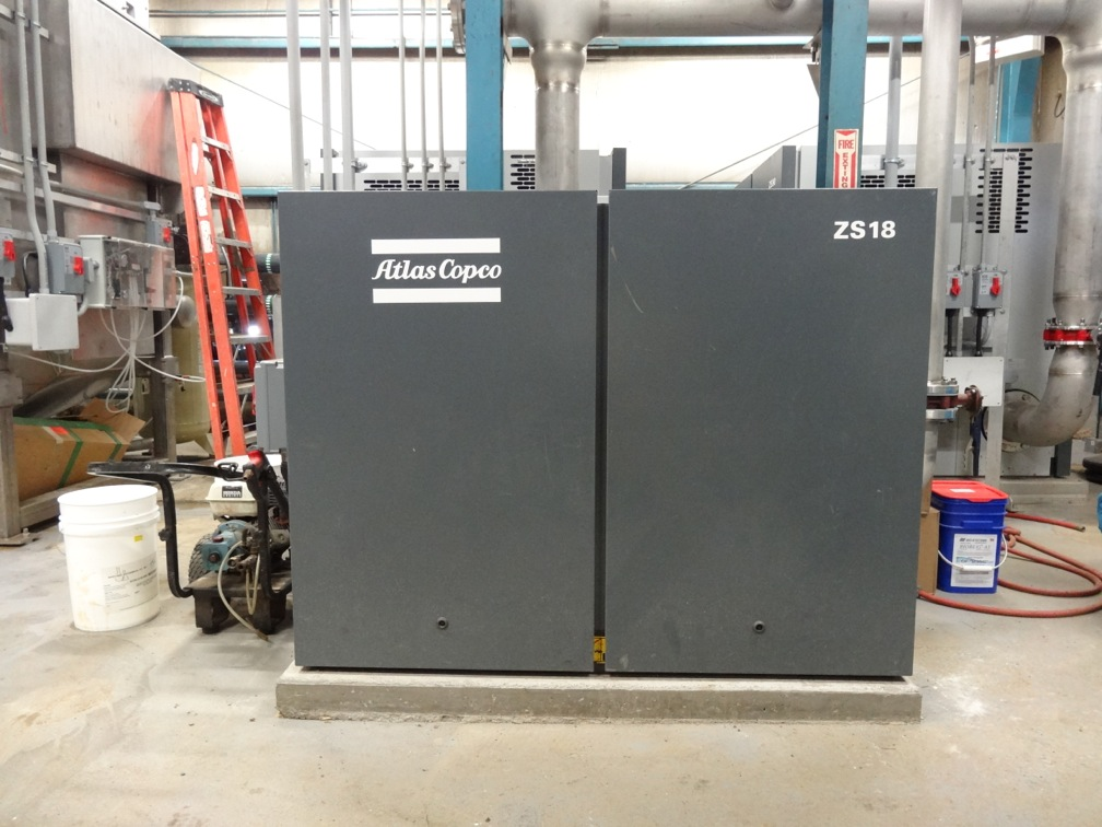 Rotary Screw Blower : Screw blowers and membrane bioreactor treat wastewater at